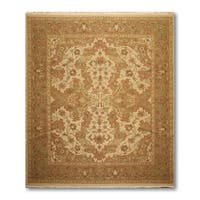 "Patterned Soumak Nourmak Hand Knotted Reversible Persian Oriental Area Rug  (8'2""x10')"