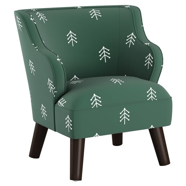 Skyline Furniture Kids Accent Chair in Line Tree