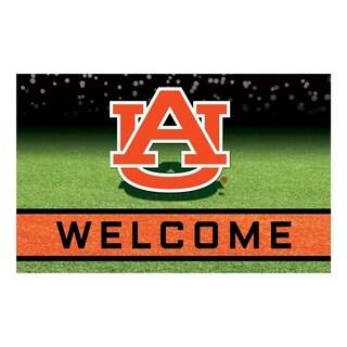 """Auburn University 18""""x30"""" Rubber Door Mat"""