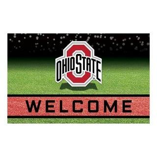 """Ohio State University 18""""x30"""" Rubber Door Mat"""