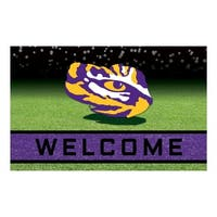 "Louisiana State University 18""x30"" Rubber Door Mat"