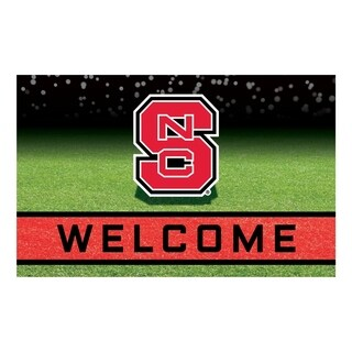 "North Carolina State University 18""x30"" Rubber Door Mat"