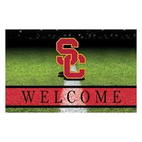 "University of Southern California 18""x30"" Rubber Door Mat"
