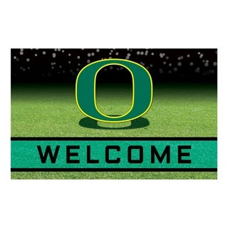 """University of Oregon 18""""x30"""" Rubber Door Mat"""