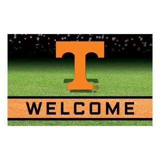 """University of Tennessee 18""""x30"""" Rubber Door Mat"""
