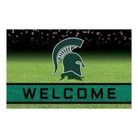 "Michigan State University 18""x30"" Rubber Door Mat"