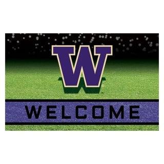 "University of Washington 18""x30"" Rubber Door Mat"