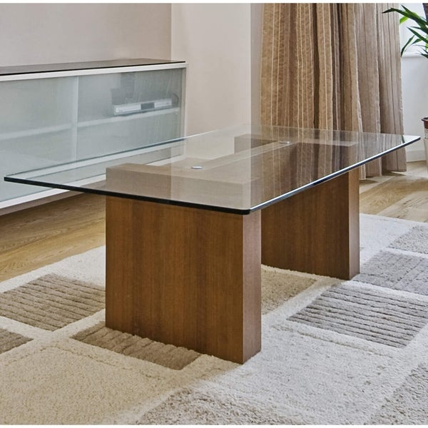 Fab Glass and Mirror 18x54 Inch Rectangle 1//2 Thick 18 x 54 Clear Beveled Tempered Radius Corners Glass Table Top