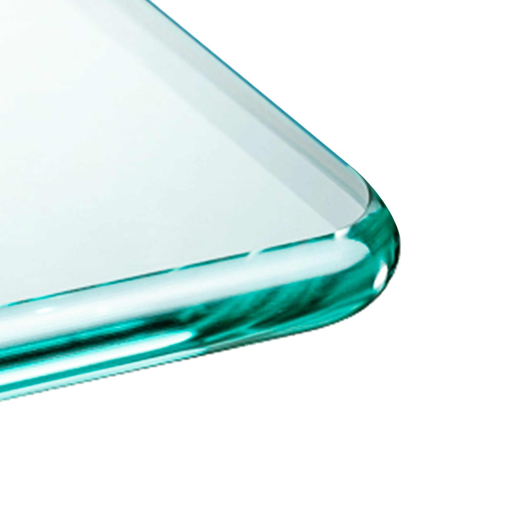 7e2529eec87f Shop Rectangle Glass Table Top 3/8