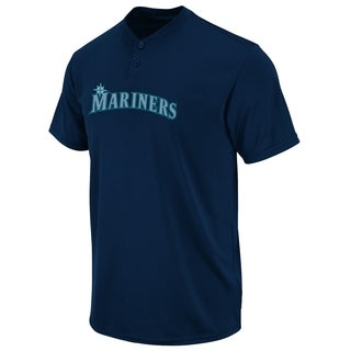 Mariners Adult Cotton 2-Button Placket S-2XL