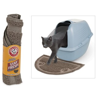 Arm & Hammer 22150 Assorted 1/2 Circle Litter Mat