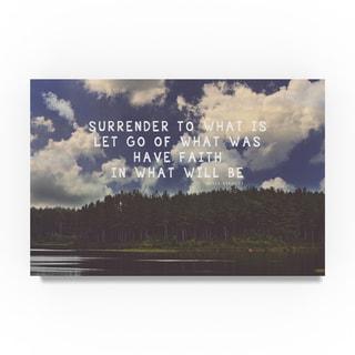 Vintage Skies 'Surrender' Canvas Art