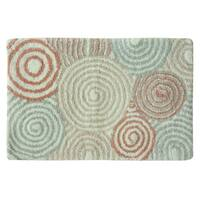 Galax 100% Cotton 20x30 bath rug by Bacova.