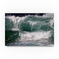 Beata Czyzowska Young 'Ocean tale' Canvas Art