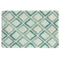 Dante 20x30 100% cotton bath rug by Bacova