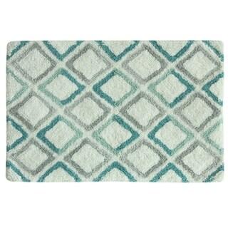 Dante 20x30 100% cotton bath rug by Bacova