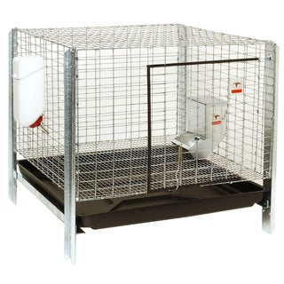 Little Giant Farm & Ag RHCK1 Complete Rabbit Hutch Kit