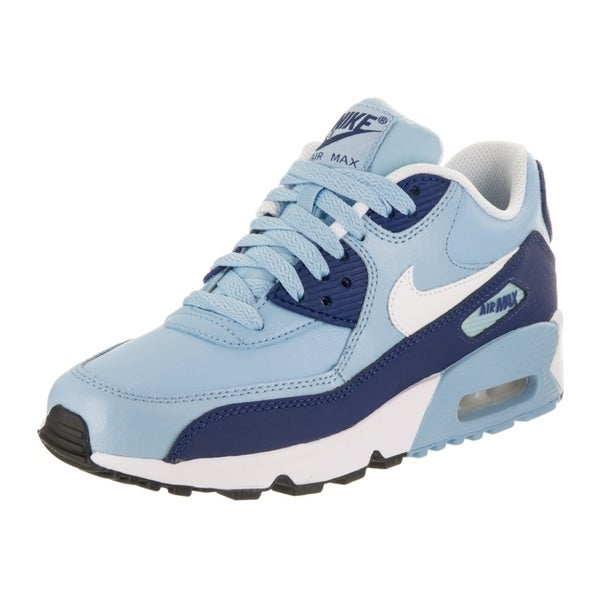 e5a450d69b7fa Shop Nike Kids Air Max 90 Ltr (GS) Running Shoe - Free Shipping ...