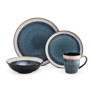 Mikasa Gourmet Basics Reed 16-Piece Dinnerware Set  sc 1 st  Overstock & Stoneware Dinnerware For Less | Overstock