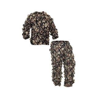 ASAT Camo Vanish Pro 3D Series Leafy Suit Scent Control Jacket + Pants|https://ak1.ostkcdn.com/images/products/18043965/P24209192.jpg?impolicy=medium