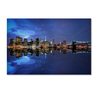 Robert Harding Picture Library 'Dark Cityscape' Canvas Art