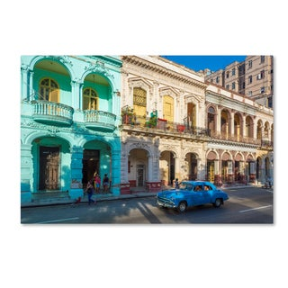 Robert Harding Picture Library 'Blue Car 1' Canvas Art