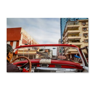 Robert Harding Picture Library 'Red Car' Canvas Art
