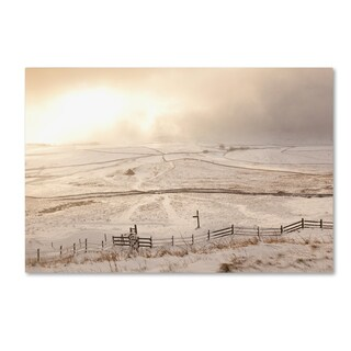 Robert Harding Picture Library 'Snow Covered Landscape 1' Canvas Art