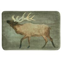 Elk 20x30 memory foam bath rug by Bacova