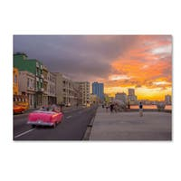 Robert Harding Picture Library 'Pink Car' Canvas Art