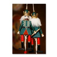 Robert Harding Picture Library 'Nutcrackers Hanging' Canvas Art