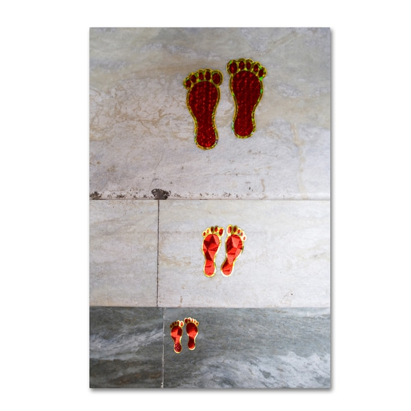 Robert Harding Picture Library 'Foot Steps' Canvas Art