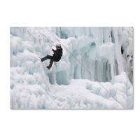 Robert Harding Picture Library 'Ice Climbers' Canvas Art