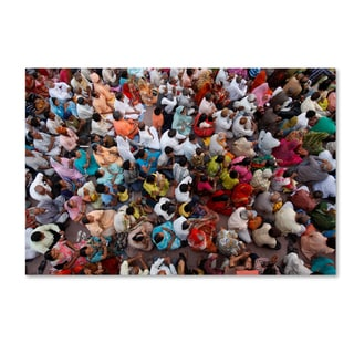 Robert Harding Picture Library 'Crowds 3' Canvas Art
