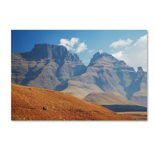 Robert Harding Picture Library 'Mountain Scene 1' Canvas Art