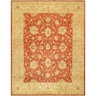"""Ferehan Collection Hand-Knotted Wool Area Rug (11'11"""" X 15' 3"""")"""