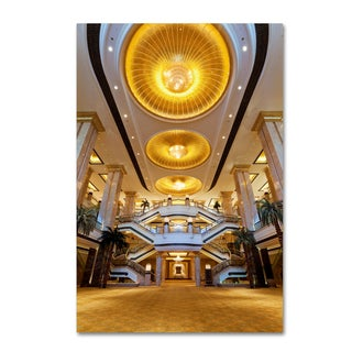 Robert Harding Picture Library 'Gold Ceiling' Canvas Art