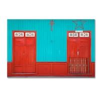 Robert Harding Picture Library 'Red Doors' Canvas Art