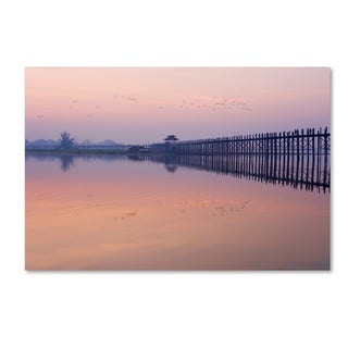 Robert Harding Picture Library 'Bridge Over The Water' Canvas Art