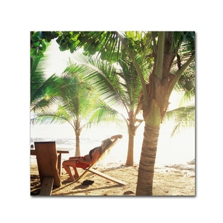 Robert Harding Picture Library 'Beach Scene 2' Canvas Art