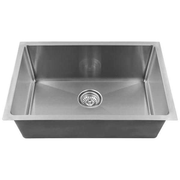 "Single Bowl 3/4"" Stainless Steel Sink"
