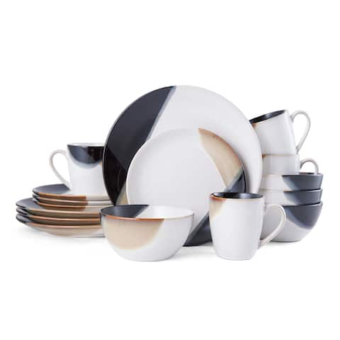 Mikasa Gourmet Basics Caden 16-Piece Dinnerware Set