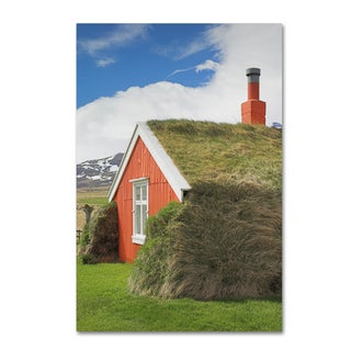 Robert Harding Picture Library 'Red Building' Canvas Art