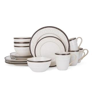 Pfaltzgraff Promenade Scroll 16-Piece Dinnerware Set  sc 1 st  Overstock & Shop Pfaltzgraff Promenade Scroll 16-Piece Dinnerware Set - On Sale ...