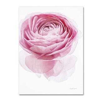 Elizabeth Urquhart 'Pink Lady I' Canvas Art