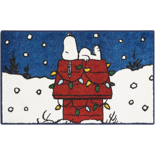 "Peanuts Buddies ""Sleeping"" Navy Accent Rug by Nourison - 1'6"" x 2'3"""