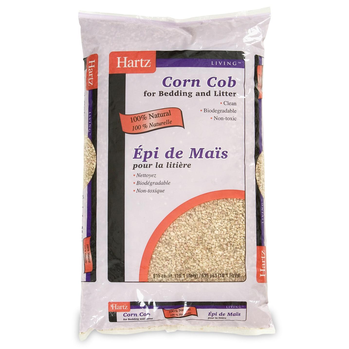 Hartz 10481 615 Cubic Inch Corn Cob Premium Bird Cage Lit...