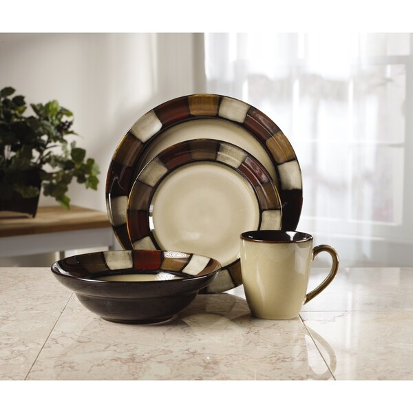 Pfaltzgraff Taos 16-Piece Dinnerware Set  sc 1 st  Overstock & Shop Pfaltzgraff Taos 16-Piece Dinnerware Set - Free Shipping Today ...
