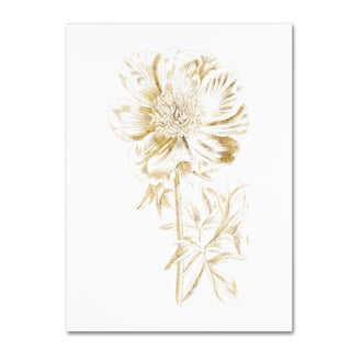 Wild Apple Portfolio 'Gilded Botanical VIII' Canvas Art