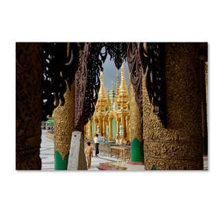 Robert Harding Picture Library 'Gold Architecture' Canvas Art